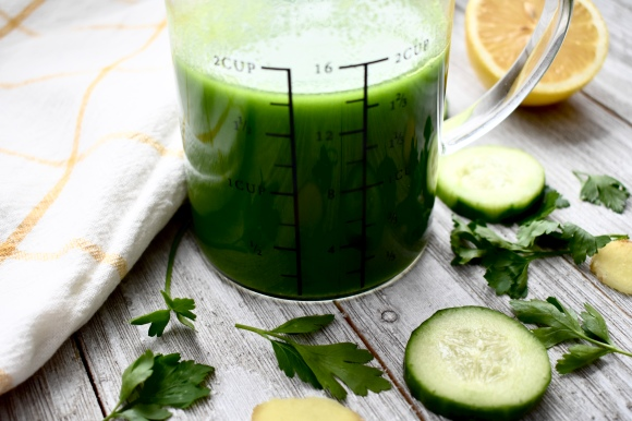 Making Green Juice without a Juicer